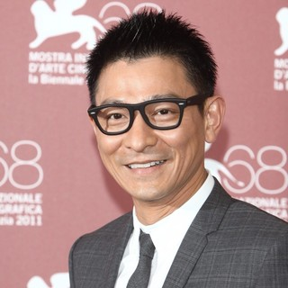 Andy Lau in The 68th Venice Film Festival - Day 6 - Tao Jie - Photocall