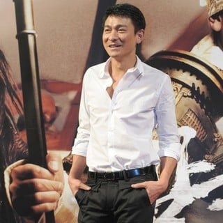 Andy Lau in The Press Photocall of Three Kingdoms: Resurrection of The Dragon