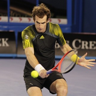 Andy Murray in Australian Open Tennis 2013 - Rod Laver Arena