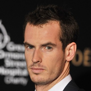 Andy Murray in Barclays ATP World Tour Finals Gala - Arrivals