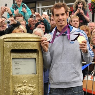 Andy Murray in Andy Murray Returns to His Hometown of Dunblane