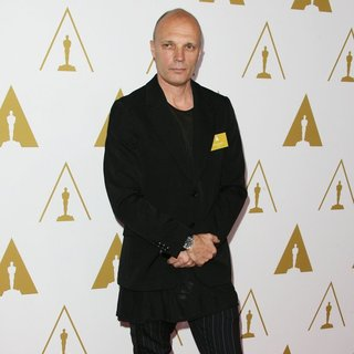 Andy Nicholson in The 86th Oscars Nominees Luncheon - Arrivals
