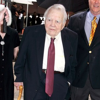 Andy Rooney in Funeral Service for Celebrated Newsman Walter Cronkite