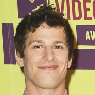 Andy Samberg in 2012 MTV Video Music Awards - Press Room