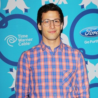 Andy Samberg in Fox Eco Casino Fall Party 2013