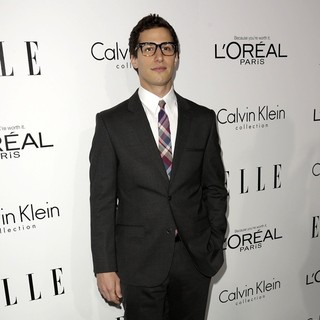 Andy Samberg in ELLE 20th Annual Women in Hollywood Celebration