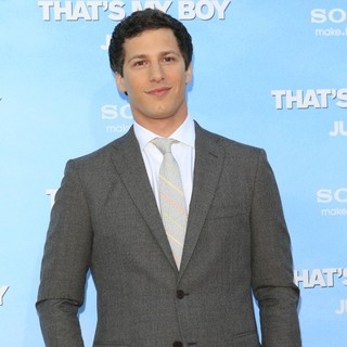 Andy Samberg in Premiere of Columbia Pictures' That's My Boy