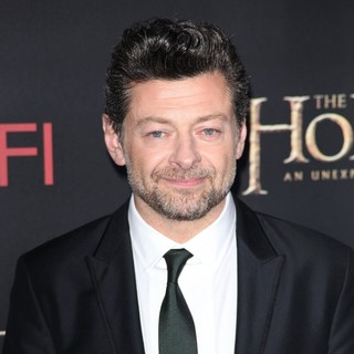 Andy Serkis in Premiere of The Hobbit: An Unexpected Journey