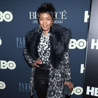 Angela Bassett in Beyonce: Life Is But a Dream New York Premiere