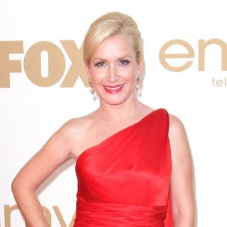 Angela Kinsey in The 63rd Primetime Emmy Awards - Arrivals