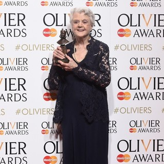 Angela Lansbury in The Olivier Awards 2015 - Press Room