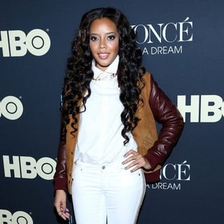 Angela Simmons in Beyonce: Life Is But a Dream New York Premiere