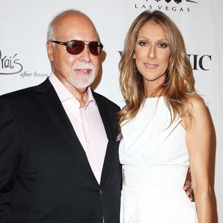 Rene Angelil, Celine Dion in Veronic Voices Media Night and Red Carpet