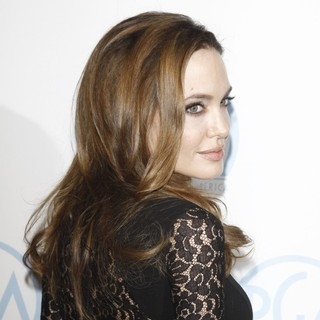 Angelina Jolie in The 23rd Annual Producers Guild Awards - Arrivals