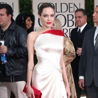 Angelina Jolie in The 69th Annual Golden Globe Awards - Arrivals