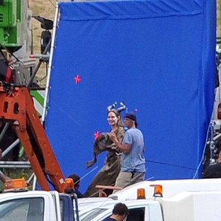 Filming of Disney Movie Maleficent