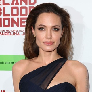 Angelina Jolie in The Premiere of In the Land of Blood and Honey