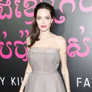Angelina Jolie in First They Killed My Father Premiere - Arrivals