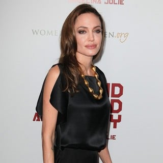 Angelina Jolie in Premiere of In the Land of Blood and Honey - Arrivals