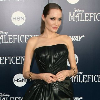 Angelina Jolie in World Premiere of Disney's Maleficent