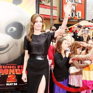 Angelina Jolie in Los Angeles Premiere of Kung Fu Panda 2