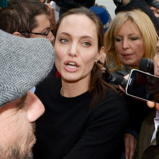 Angelina Jolie Visits Piraeus