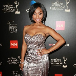Angell Conwell in The 40th Annual Daytime Emmy Awards - Arrivals