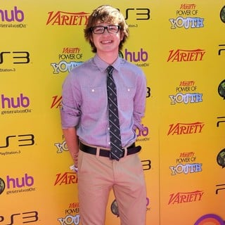 Angus T. Jones in Variety's 5th Annual Power of Youth Event