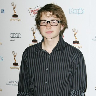 Angus T. Jones in 63rd Annual Primetime Emmy Awards Cocktail Reception Honoring Nominees for Outstanding Performances