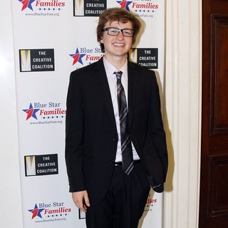 Angus T. Jones in The Creative Coalition's Salute to Blue Star Families