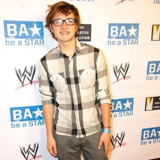 Angus T. Jones in WWE's SummerSlam Kickoff Party