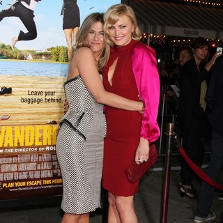 Jennifer Aniston, Malin Akerman in The Wanderlust World Premiere - Arrivals