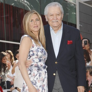 Jennifer Aniston, John Aniston in Jennifer Aniston Is Honored with A Star on The Hollywood Walk of Fame