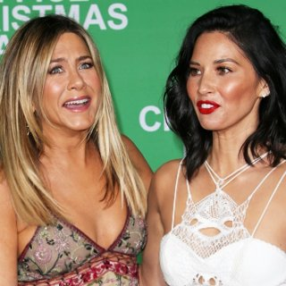 Jennifer Aniston, Olivia Munn-Premiere of Paramount Pictures' Office Christmas Party
