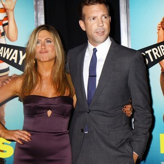 Jennifer Aniston, Jason Sudeikis in We're the Millers World Premiere