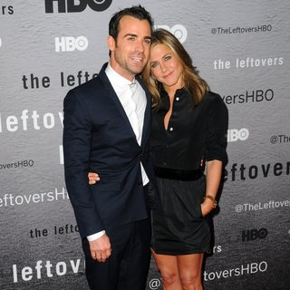 Justin Theroux, Jennifer Aniston in The Leftovers New York Premiere - Red Carpet Arrivals