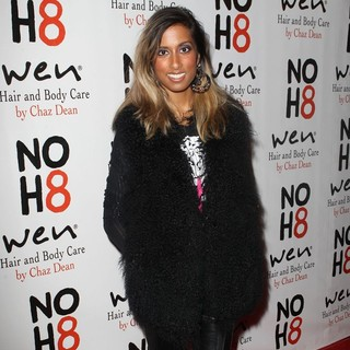 Anjulie in NOH8 Celebrity Studded 4th Anniversary Party - Arrivals