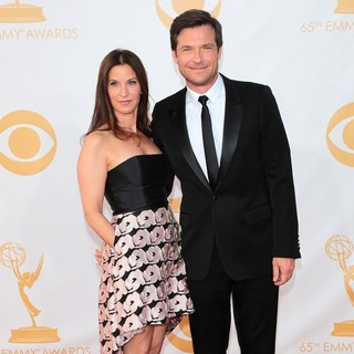 Amanda Anka, Jason Bateman in 65th Annual Primetime Emmy Awards - Arrivals