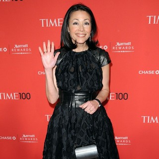 Ann Curry in 2012 Time 100 Gala