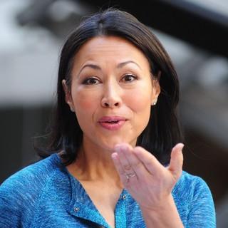 Ann Curry Enjoys The Performance as Part of The Today' Show's Concert Series