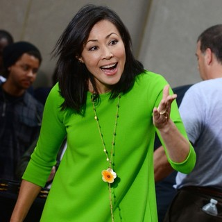 Ann Curry in Ann Curry at Rockefeller Center for The Today Show's Concert Series