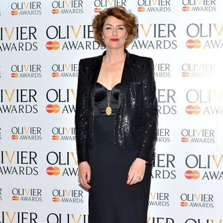 Anna Chancellor in The Olivier Awards 2013 - Press Room