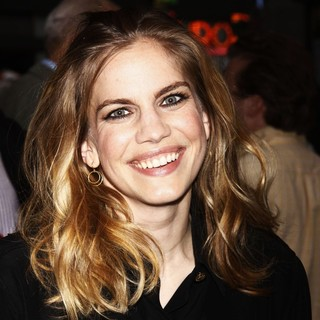 Anna Chlumsky in Opening Night of The Off-Broadway Play Lonely, I'm Not - Arrivals
