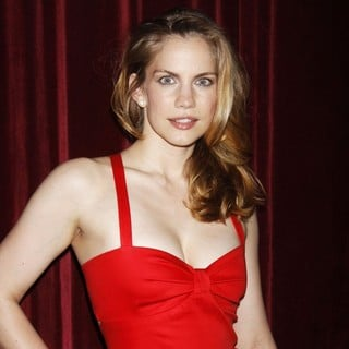 Anna Chlumsky in The Premiere Afterparty for The 3C