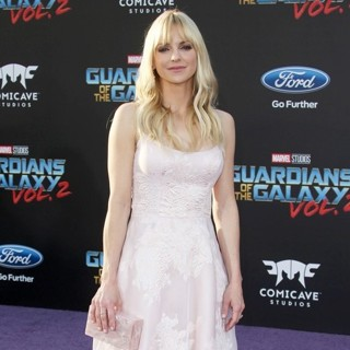 Anna Faris-The World Premiere of Marvel Studios' Guardians of the Galaxy Vol. 2