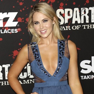 Anna Hutchison in U.S. Premiere Screening of Spartacus: War of the Damned