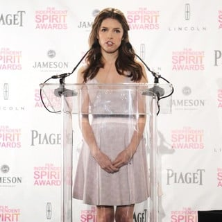Anna Kendrick in 2013 Independent Spirit Awards Nominations Ceremony