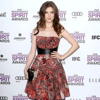 Anna Kendrick in 27th Annual Independent Spirit Awards - Arrivals