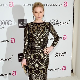 Anna Paquin in The 20th Annual Elton John AIDS Foundation's Oscar Viewing Party - Arrivals