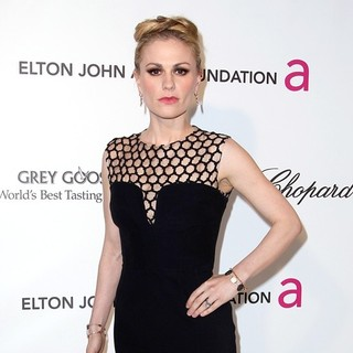 Anna Paquin in 21st Annual Elton John AIDS Foundation's Oscar Viewing Party